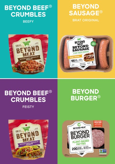 Beyond Meat - Products