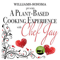 A Plant-Based Cooking Experience with Chef Jay